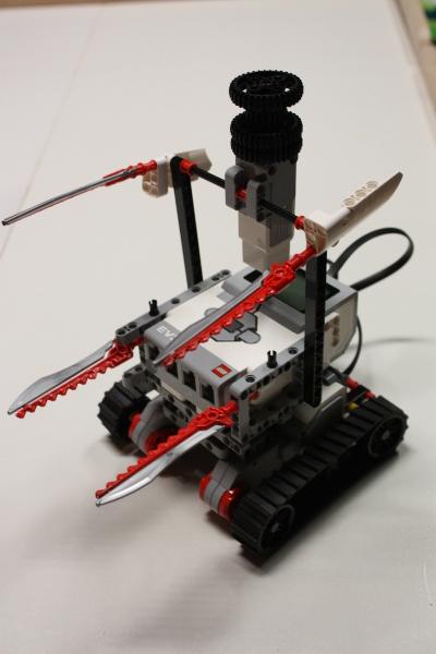 My first  Lego Mindstorm car